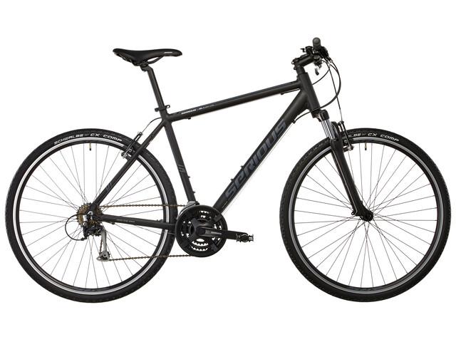 Serious Cedar Hybridcykel svart
